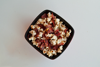 Popped Corn With Bacon, Anyone?